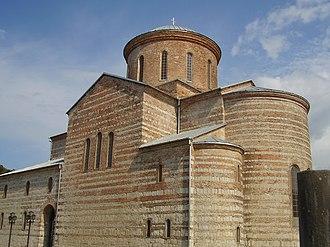 Catholicate of Abkhazia - Bichvinta (Pitsunda) Cathedral, the earliest residence of the Catholicate of Abkhazia.