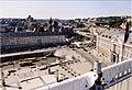 Place Saint-Lambert à Liège avec une modèle temporaire du choeur de la Cathédrale Saint-Lambert (4).jpg
