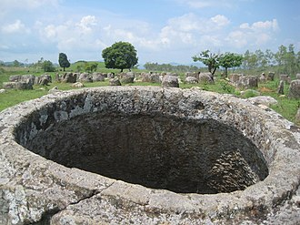 Xiangkhouang Province - Plain of Jars archaeological site 1