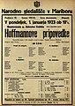 Plakat za predstavo Hoffmannove pripovedke v Narodnem gledališču v Mariboru 1. januarja 1923.jpg