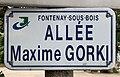 Plaque allée Maxime Gorki Fontenay Bois 4.jpg