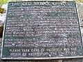 Plaque for The Old Bridge of Livet - geograph.org.uk - 884075.jpg