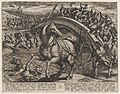 Plate 31- Civilis Forced to Dismount and Swim Across the River, from The War of the Romans Against the Batavians (Romanorvm et Batavorvm societas) MET DP862874.jpg