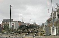 Platform 1 - Featherstone Station - geograph.org.uk - 1193338.jpg