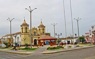 Moche, Trujillo Place in La Libertad Region, Peru