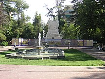 Mendoza Province-References-Plaza españa mendoza