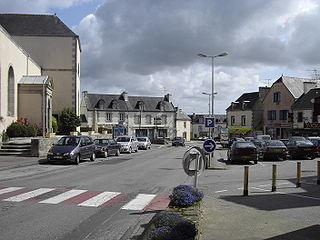 Plonéour-Lanvern Commune in Brittany, France
