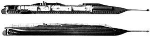Le Plongeur, premier sous-marin à propulsion mécanique