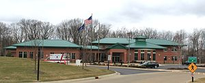 Plymouth Township, Michigan - Township Hall and Police Department