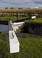 Pocklington Canal, Coates Lock gate - geograph.org.uk - 1569789.jpg