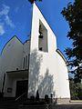 Podlaskie - Korycin - Bombla - Kościół Niepokalanego Serca NMP 20110925 05 Bok.JPG