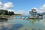 Poertschach Promenadenbad Boote und Rutschenturm 06062013 666.jpg