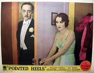 <i>Pointed Heels</i> 1929 film by A. Edward Sutherland
