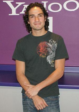 Alfonso Herrera - Herrera promoting the film Volverte a Ver in 2008
