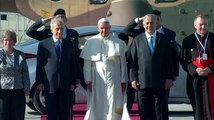 Archivo:Pope Francis in Israel - The First Day - May 25 2014.webm