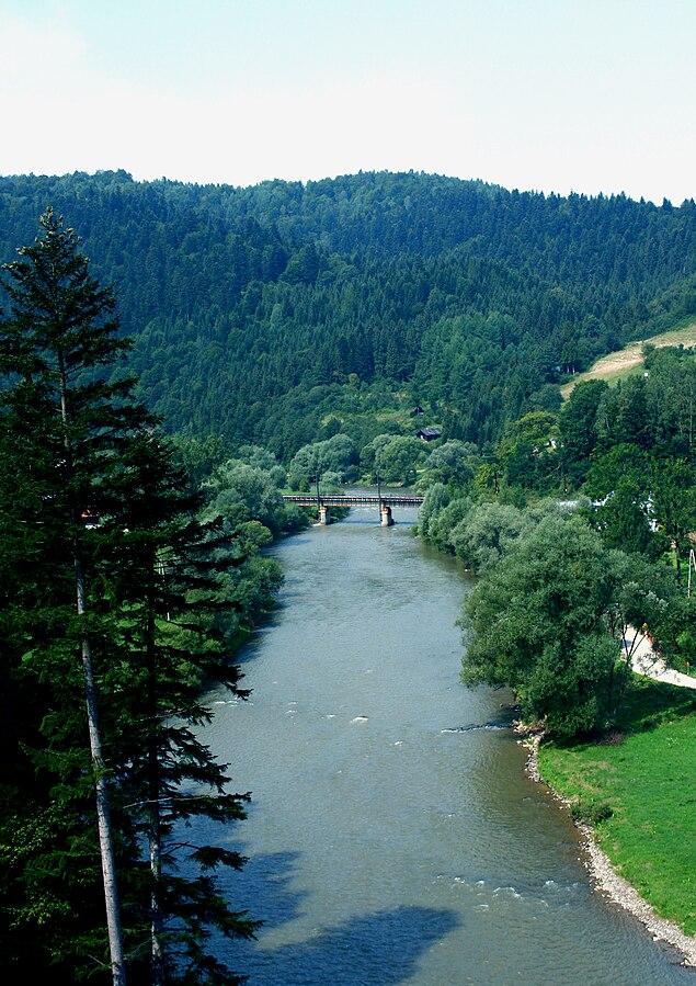 Poprad River Gorge