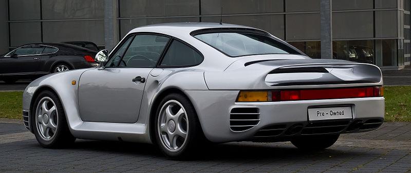 File:Porsche 959 – Heckansicht (2), 21. März 2013, Düsseldorf.jpg