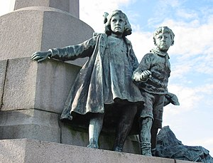 Goscombe John - Image: Port Sunlight war memorial 7