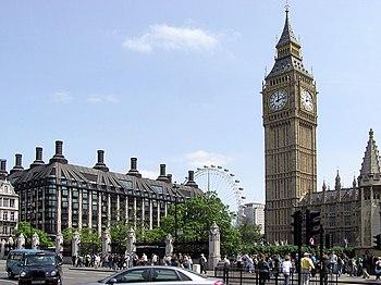 La Casa Portcullis, el Ojo de Londres y el Big Ben