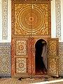 Porte de la mosquée de la Zaouïa Naciria de Tamegroute.jpg