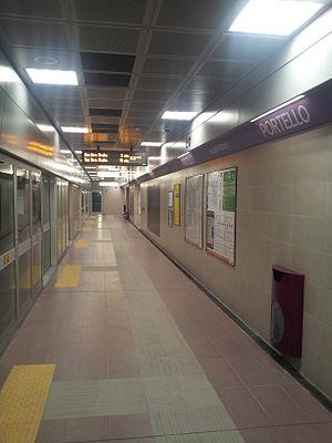 Portello (Milan Metro) - Image: Portello M5
