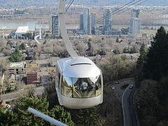 Portland Aerial Tram, Portland, Oregon (2013) - 2.JPG