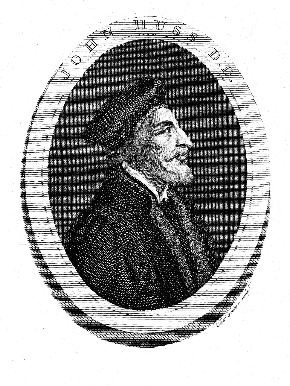 Portrait of Jan Hus