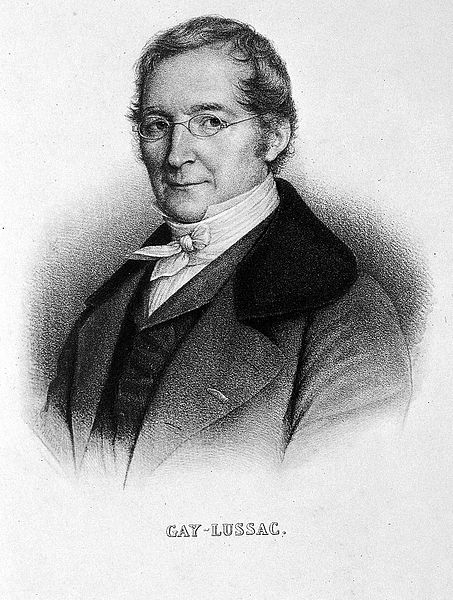 Cientifico Joseph Louis Gay-lussac