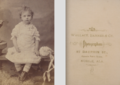 Portrait of girl by Wallace Barnes and Co of Mobile Alabama.png