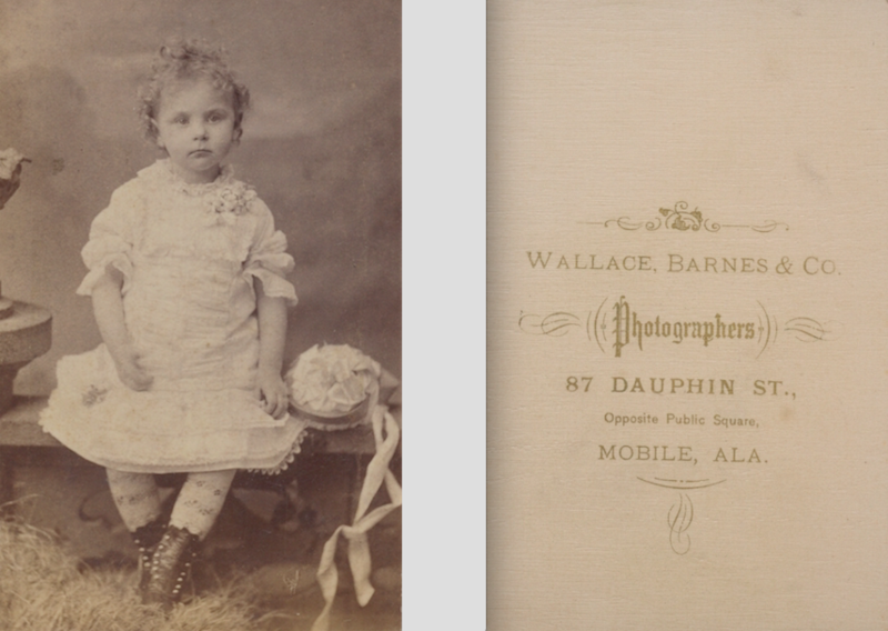 File:Portrait of girl by Wallace Barnes and Co of Mobile ...