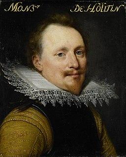 Portret van Willem de Zoete de Laeke (?-1637), heer van Hautain Rijksmuseum SK-A-549