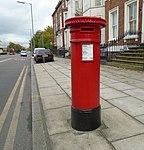 Post box on Upper Parliament Street near Sandon Street.jpg