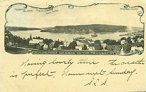 Penobscot River - Bucksport Harbor, about 1905