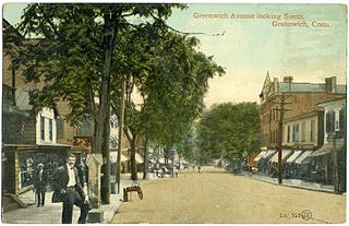 Greenwich Avenue Historic District United States historic place