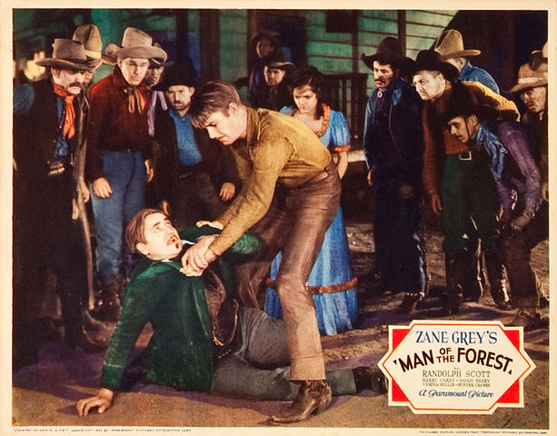 Poster - Man of the Forest (1933) 09.jpg