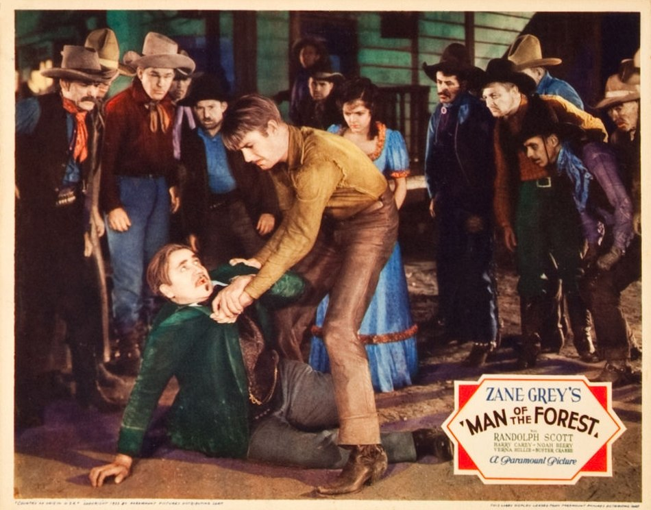 Poster - Man of the Forest (1933) 09