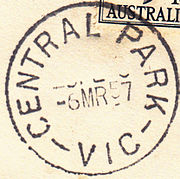 Postmark Central Park Victoria