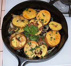 Potatoes lyonnaise.JPG