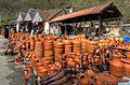 Pottery market near Kutaisi (10600388464).jpg