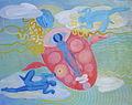Poupetova Miluse - S kridelky, olej na platne, 70x90 cm, r. 2011.jpg