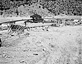 Pouring concrete on first floor of Mission 66 Visitor Center and Museum. ; ZION Museum and Archives Image 004 01044 ; ZION 7777 (26b20ad8271d45d89b47fc9e88596c48).jpg