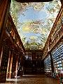 Prag – Kloster Strahov, Klosterbibliothek - Strahovský klášter, Klášterní knihovna - panoramio (1).jpg