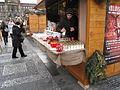 Praha, Václavské náměstí, prodej svíček.JPG