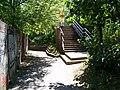 Praha-Gymnasijní, 2010, schodiště od Evropské.jpg