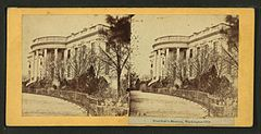 President's Mansion, Washington City, D.C. (south front), by William Morris Smith.jpg