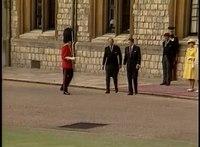 File:President Reagan at the Arrival Ceremony at Windsor castle, United Kingdom on June 7, 1982.webm