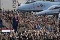 President Trump Delivers Remarks at Osan Air Base (48170576012).jpg