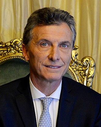 2018 G20 Buenos Aires summit - Image: Presidente Macri en el Sillón de Rivadavia 1