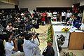 Press Conference - Sunita Lyn Williams - Science City - Kolkata 2013-04-02 7597.JPG