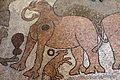 Prete pantaleone, mosaico del pavimento del duomo di otranto, 1163-1166, 13 elefante.jpg